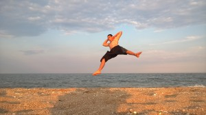 Tricking on the sea